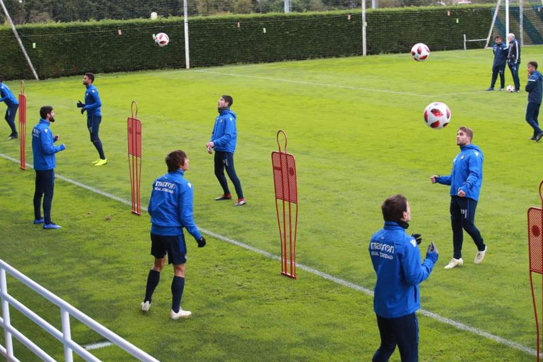 La Real Sociedad prepara el partido ante el Celta