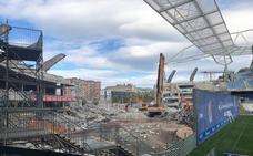 La tribuna norte del estadio de Anoeta tiene los días contados