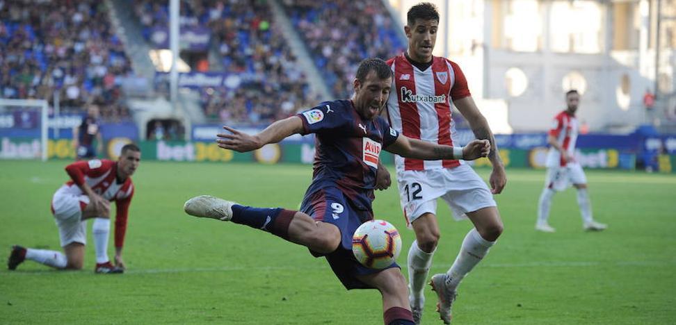 El Eibar divulga el parte médico de sus futbolistas