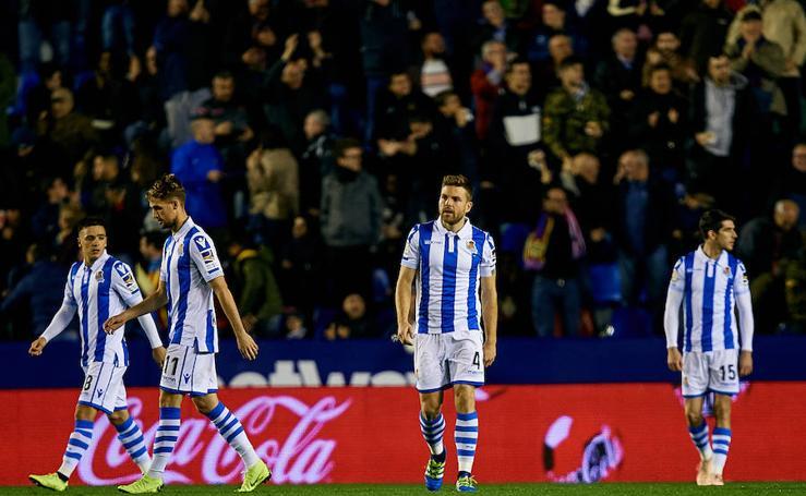 La Real Sociedad se enfrenta al Levante