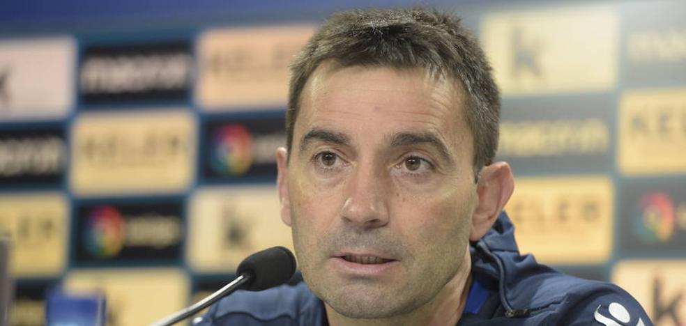 Garitano: «Hemos dado un salto al lograr dos victorias consecutivas y queremos la tercera»