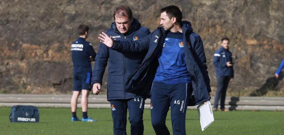 Garitano: «Para pasar de ronda en Copa hay que mejorar el partido de Liga contra el Celta en Anoeta»