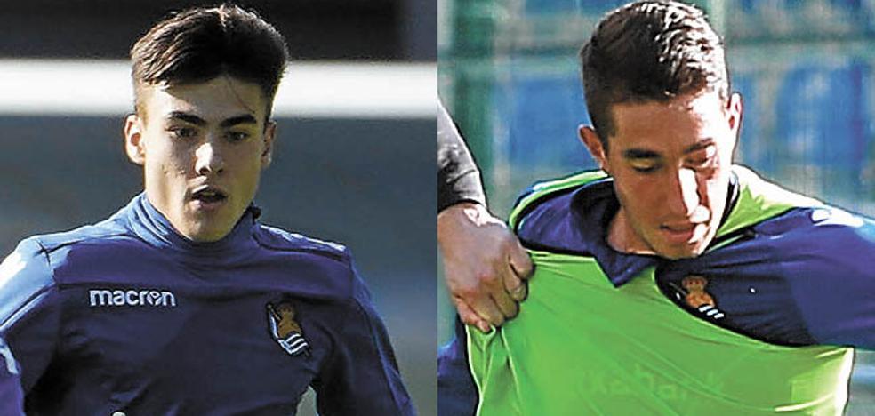 La Real Sociedad trabaja en el blindaje de Barrenetxea y Roberto López