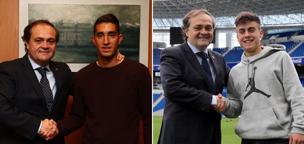 La Real Sociedad ata a Roberto López y Ander Barrenetxea hasta 2025