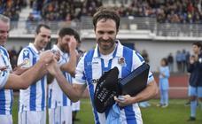 Despedida de Mikel Alonso