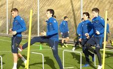 Último entrenamiento antes del Valladolid