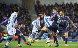 Vídeos: Resumen del partido y mejores jugadas del Real Sociedad- Valladolid