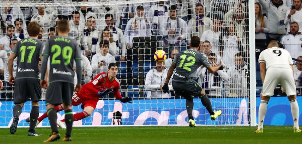 Uno a uno de la Real Sociedad ante el Real Madrid