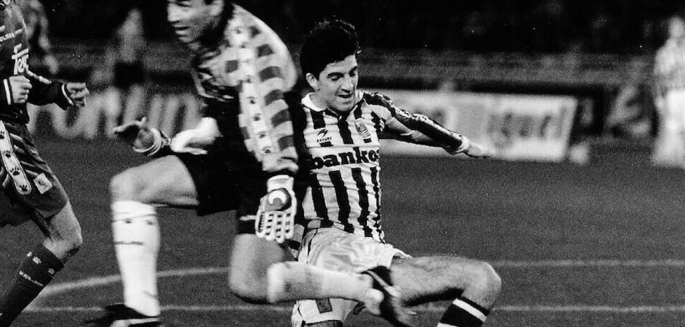 Imanol debutará en el Bernabéu, donde ya marcó en 1994