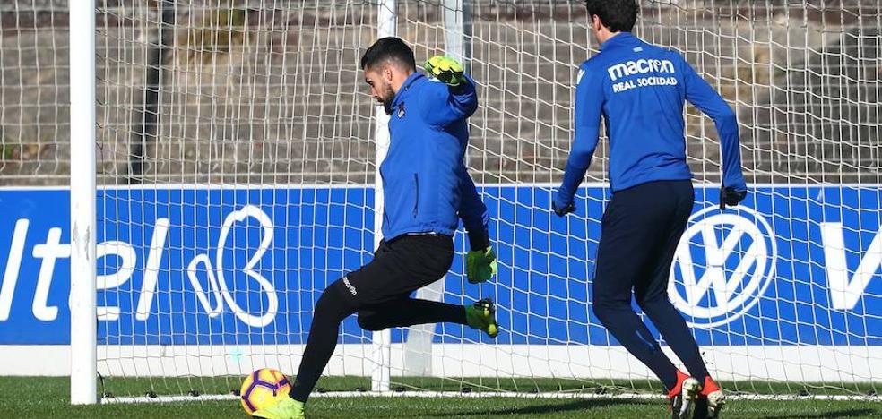 Moyá sigue a medio gas y Rulli apunta al Bernabéu