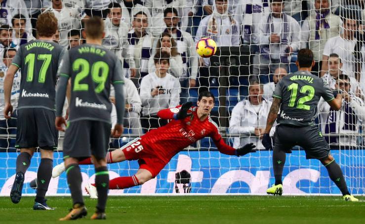 Las mejores imágenes del Real Madrid - Real Sociedad