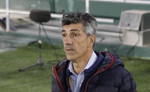 Imanol Alguacil: «Me voy satisfecho con el empate»