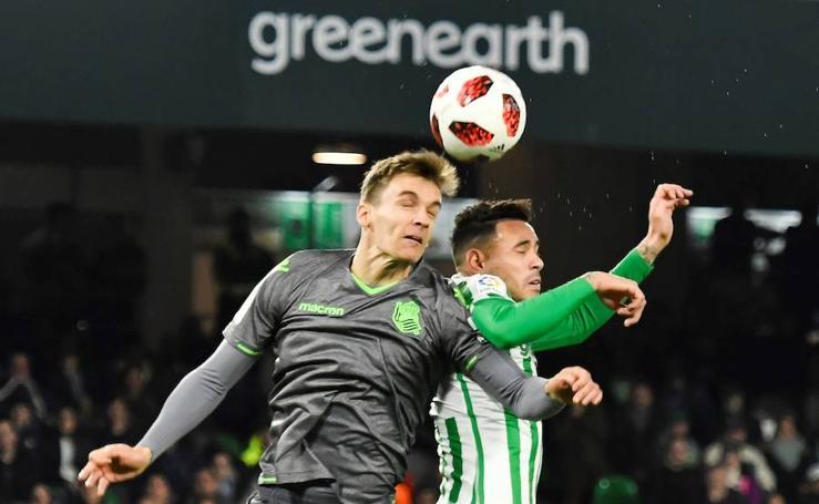 La Real y el Betis empatan sin goles en el Benito Villamarín