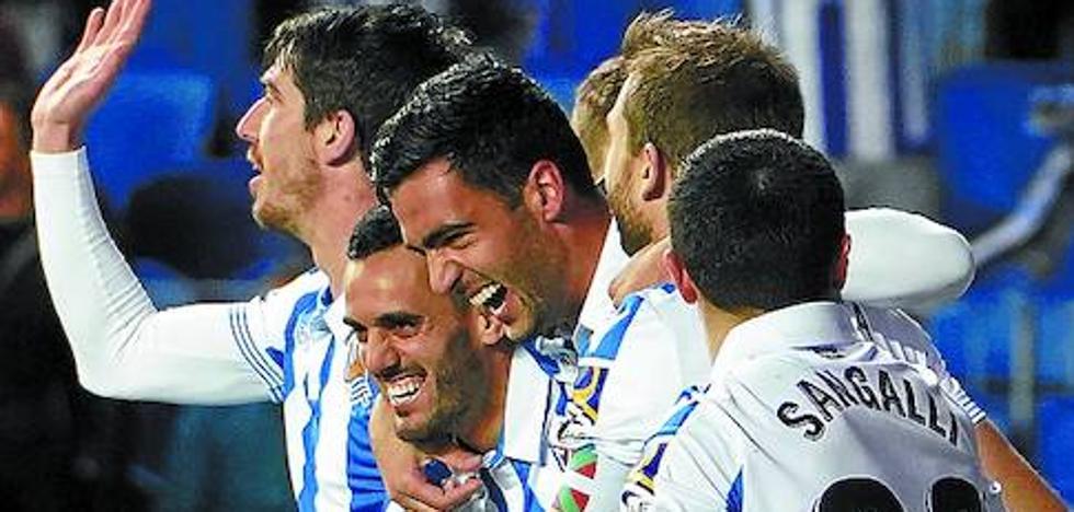 El uno a uno de la victoria de la Real Sociedad frente al espanyol