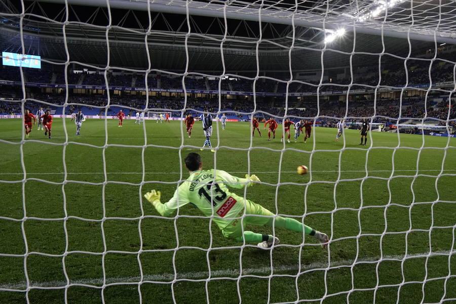 Las mejores fotos del Real Sociedad - Espanyol