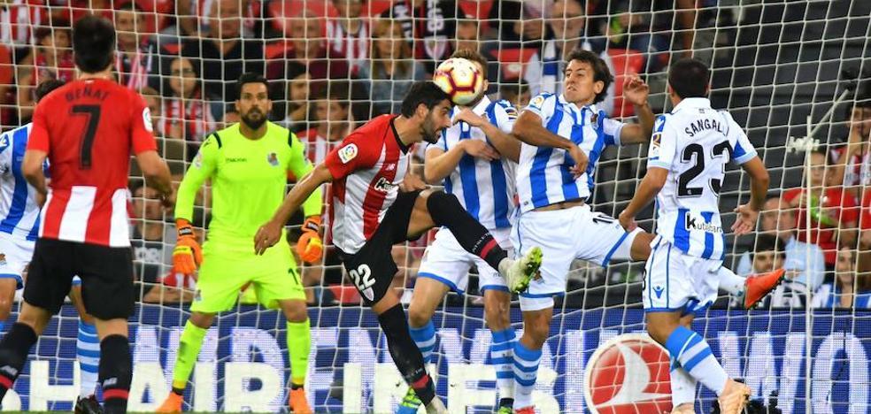 La Real Sociedad recibirá al Athletic el sábado 2 de febrero a las 16.15 horas
