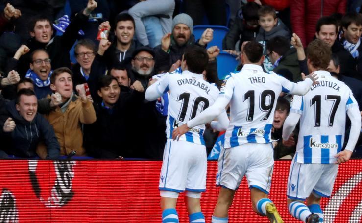 Real Sociedad-Athletic, en imágenes