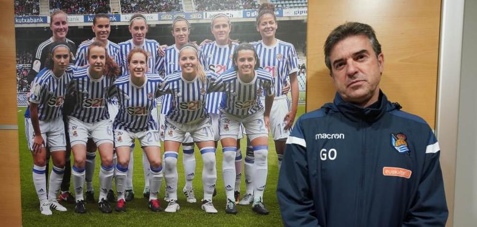 Gonzalo Arconada: «Me sorprende la implicación del equipo; no se pone límites y se deja llevar en el camino»
