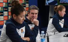 Arconada: «Es una oportunidad histórica para los dos equipos y será un partido complicado»