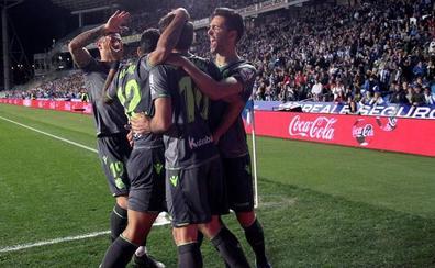 Real Sociedad - Leganés: Victoria para mirar a Europa