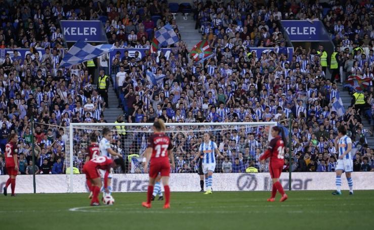 Real Sociedad-Sevilla, en imágenes