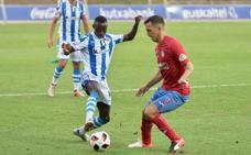Adrián Lapeña da los tres puntos al Sanse en Calahorra