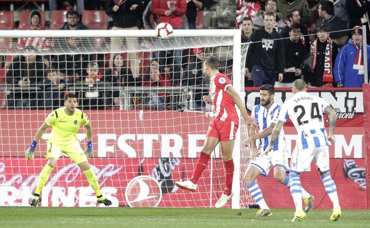 Las mejores imágenes del Girona - Real Sociedad