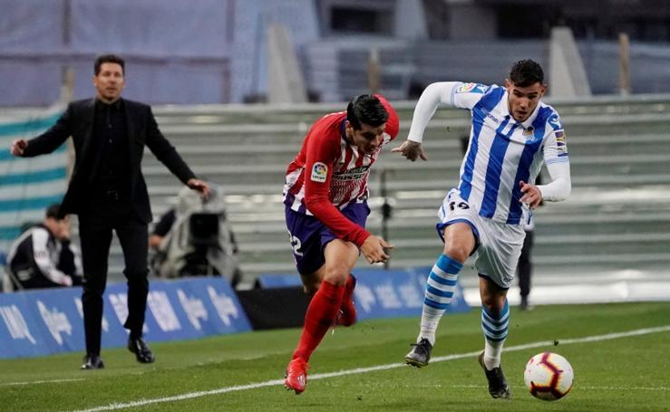 Real Sociedad-Atlético, en imágenes