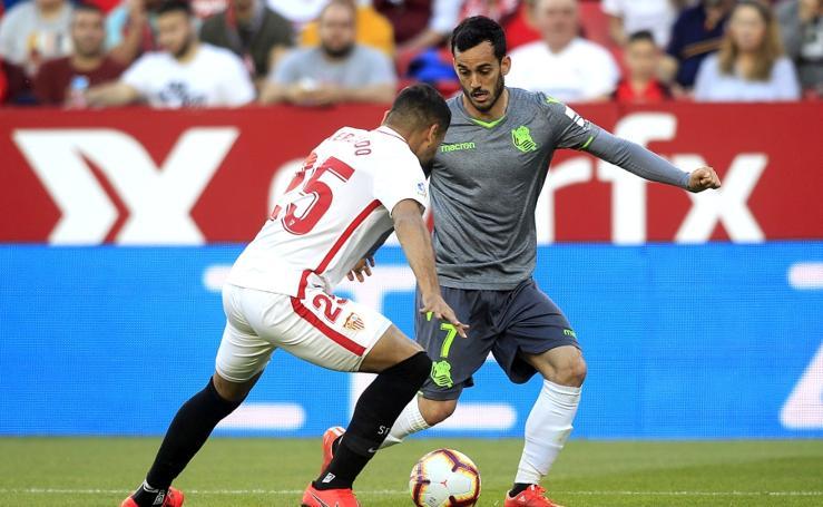 Sevilla-Real Sociedad, en imágenes