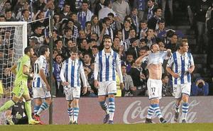 El uno a uno del Real Sociedad-Levante