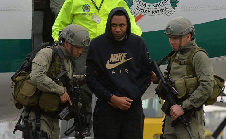El arresto de John Viáfara, en imágenes