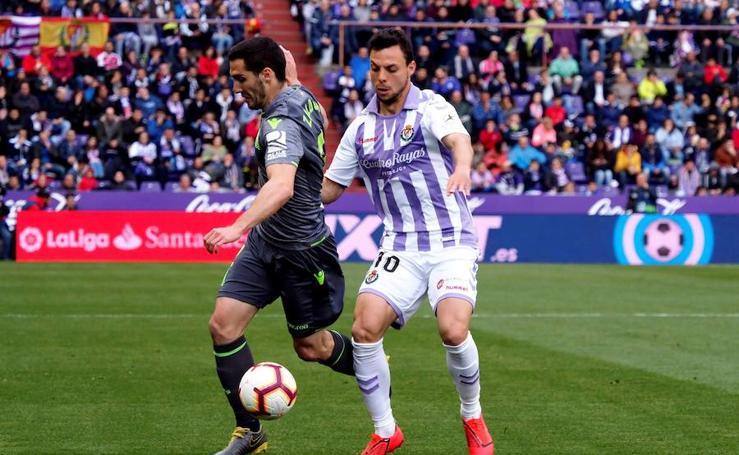 Las mejores imágenes del Valladolid - Real Sociedad