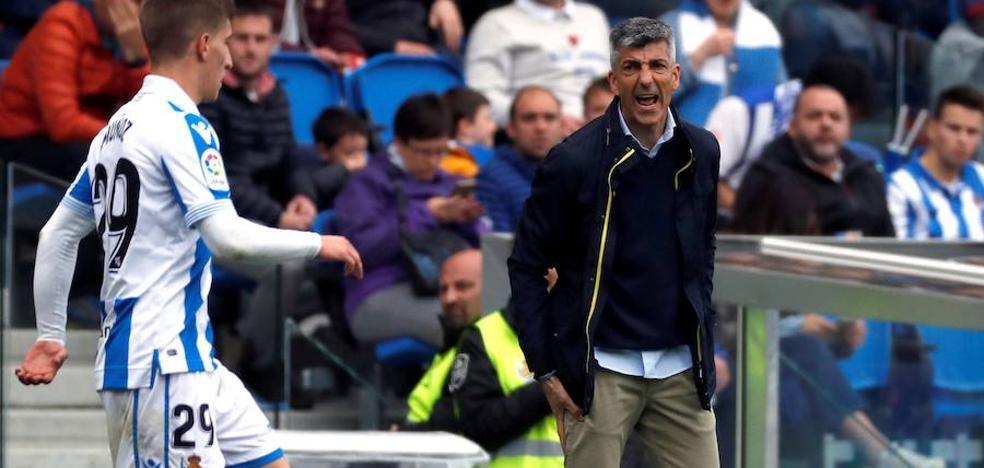 Imanol Alguacil: «Este empate ante el Eibar es un mazazo doloroso»
