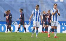 El uno a uno del empate de la Real Sociedad ante el Eibar