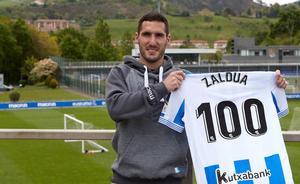Joseba Zaldua: «El año pasado me valió para volver a confiar en mí y recuperar la ilusión»