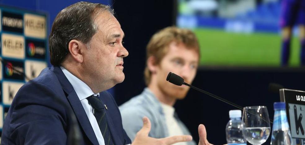Aperribay: «Tenemos un reto histórico, transformar la Real Sociedad confiando en los jóvenes»