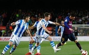 Vídeos: Las mejores jugadas de la Real Sociedad ante el Barça