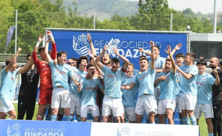 El RC Celta de Vigo, campeón U17
