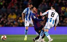 La Real Sociedad presenta alegaciones a la tarjeta amarilla de Merino ante el Barcelona