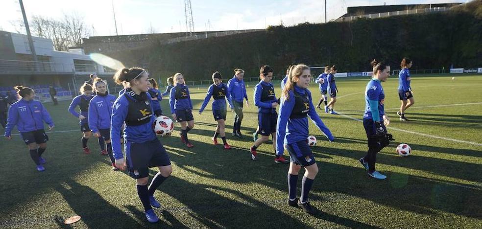 Mañana, entrenamiento de la Real Sociedad a puerta abierta para apoyar al equipo