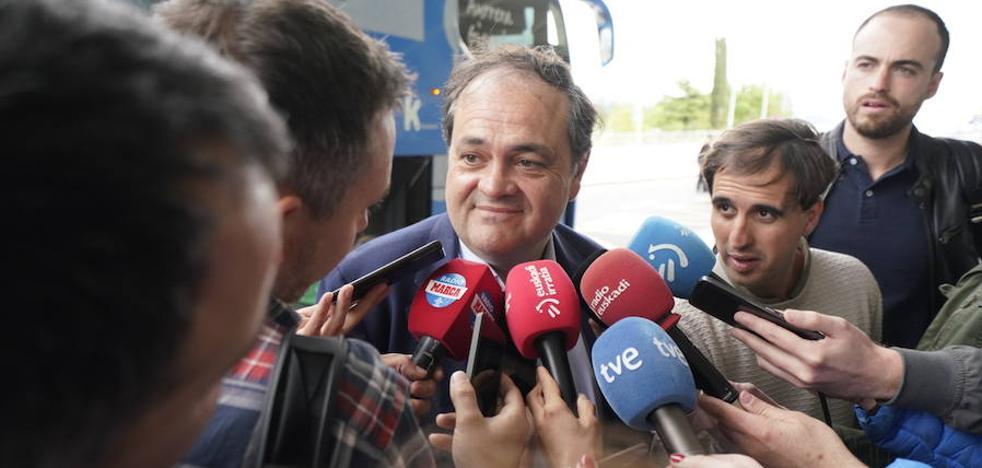 Aperribay: «Esta final representa a todo el fútbol guipuzcoano»
