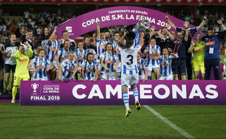 La Real Sociedad, campeona de la Copa de la Reina
