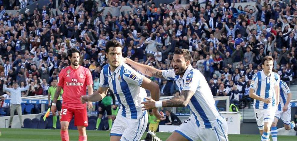 Merino: «Hemos seguido jugando sin importar el resultado y nos hemos venido arriba»