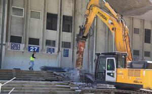 Sin fútbol, empieza el esprint final de la remodelación de Anoeta