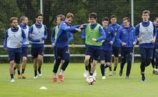 La Real Sociedad prepara el partido ante el Espanyol