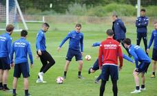 Arranca la última semana de entrenamientos de la Real Sociedad