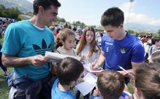 Amasa y Villabona se vuelcan en el último entrenamiento de la Real Sociedad