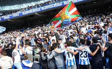 La asistencia media a Anoeta esta temporada ha sido de 22.203 aficionados