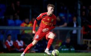 La Real Sociedad sigue al danés Andreas Skov Olsen, extremo derecho de 19 años