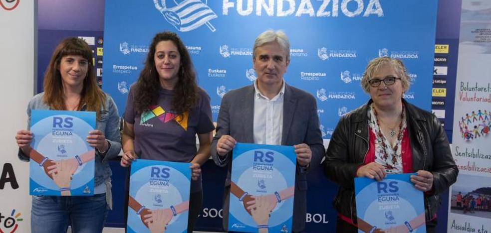 Fiesta del deporte y la solidaridad de mano de la Real Sociedad
